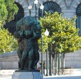 Chłopiec obfitość, Liberdade kwadrat Porto Obraz Royalty Free