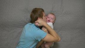 chłopiec ojca całowanie zdjęcie wideo