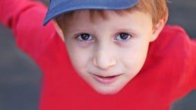 Chłopiec ono uśmiecha się Zdjęcia Stock