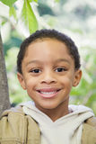 Chłopiec outdoors Obraz Royalty Free