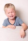 chłopiec płacz Obrazy Stock