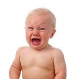 chłopiec płacze Zdjęcia Stock