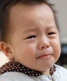 chłopiec płaczu twarz Zdjęcia Royalty Free