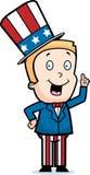 chłopiec patriotyczna Obraz Stock