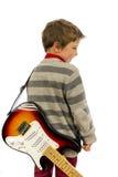 Gitary chłopiec Obrazy Stock