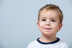 chłopiec portret śliczny mały zdjęcia stock