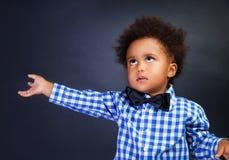 chłopiec portret śliczny mały Obraz Stock