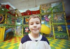 chłopiec portret szczęśliwy mały zdjęcie royalty free