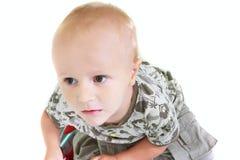 chłopiec portreta berbeć Obrazy Royalty Free