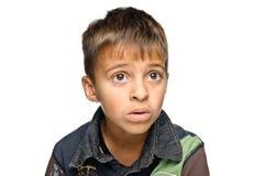 chłopiec portreta potomstwa obraz royalty free