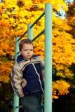 chłopiec poważna Zdjęcia Stock