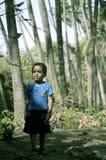 Chłopiec pozycja w koksu parku obrazy stock