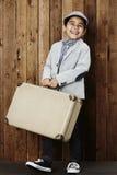 Chłopiec przygotowywająca dla wakacje Zdjęcia Royalty Free