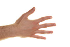 chłopiec ręka obrazy stock