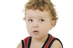 chłopiec rozważna Obrazy Royalty Free