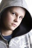 chłopiec rozważny nastoletni fotografia stock