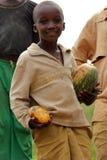 chłopiec Rwanda zdjęcia royalty free