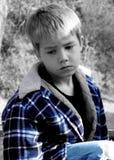 chłopiec stracił Fotografia Royalty Free