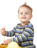 chłopiec szczęśliwa obrazy stock