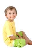 chłopiec szczęśliwy obraz stock