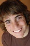 chłopiec szczęśliwy nastolatków. Obraz Stock