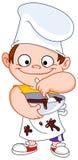 chłopiec szef kuchni Obraz Stock