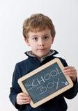 chłopiec szkoła Obrazy Royalty Free