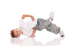 Chłopiec taniec Zdjęcie Stock