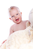 chłopiec target1484_0_ zdjęcia stock