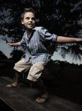chłopiec target247_0_ kipiel zdjęcia royalty free