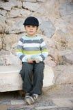 chłopiec trochę obrazy royalty free