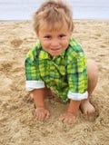 chłopiec trochę Fotografia Royalty Free