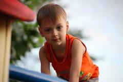 chłopiec trochę Zdjęcia Royalty Free