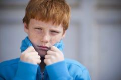 chłopiec twarda Zdjęcia Stock