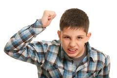 chłopiec ulica wstrętna walcząca Obrazy Royalty Free