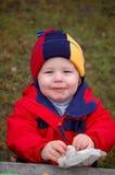 chłopiec upaćkana Zdjęcie Stock