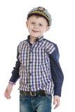 Chłopiec w żeglarza kostiumu obrazy stock