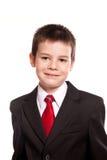 Chłopiec w oficjalnym dresscode Obrazy Stock