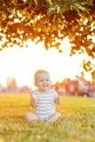 Chłopiec wp8lywy odpoczynek Fotografia Stock