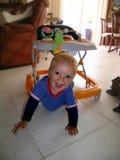 Chłopiec z dużymi oczami obraz stock