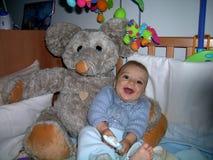 Chłopiec z dużymi oczami Obraz Royalty Free