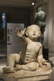 Chłopiec z Egipską gąską od Ephesos muzeum, Wiedeń, Austria Fotografia Royalty Free