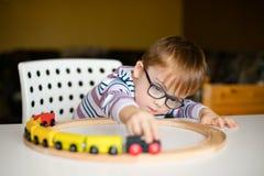 Chłopiec z syndromu świtem Fotografia Stock
