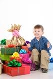 chłopiec zaskakująca Zdjęcie Stock