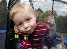 chłopiec zuchwała Fotografia Stock