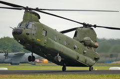CH-47 Chinook Helicopter Royalty Free Stock Photos