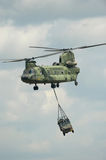 CH-47 Chinook Helicopter. CH-47 Chinook Military Army Helicopter royalty free stock photo