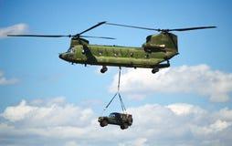 CH-47 Chinook Photos libres de droits