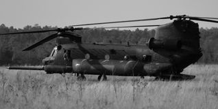 CH-47 Chinook Helicopter Stock Image