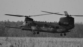 CH-47 Chinook Helicopter Stock Photography